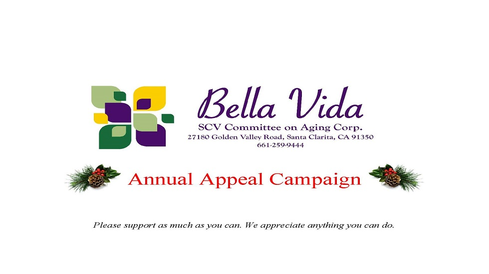 Annual Appeal Campaign Slide